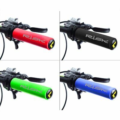 Road MTB Mountain Bike Bicycle Cycle Silicone Rubber Handlebar Grips Tape x 1