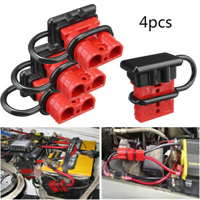 4x 50A Car 12V Battery Quick Connector Winch 4x battery quick connect disconnect tool winch electrical wire