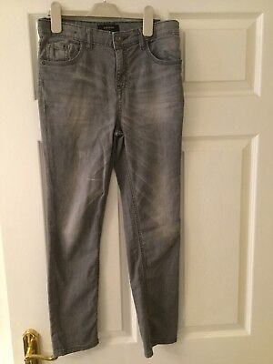 Boys Grey River Island Jeans Age 10 - Excellent Condition