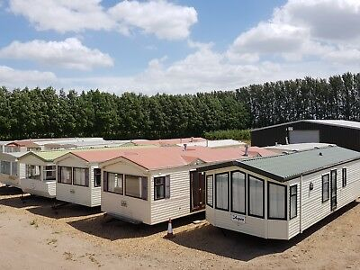 New Second-hand Stock of static caravans, now available  call 01945 450131