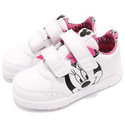 ADIDAS DY M M AltaSport CF I Disney Minnie Mouse White Pink Infant Shoes BY2644