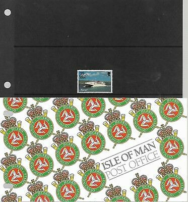 ISLE OF MAN 1996 SEACAT DEFINITIVE 35p STAMP BOOKLET  MY REF 921