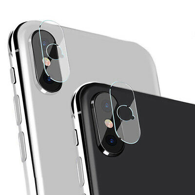 For iPhone XS XR XS Max Camera Lens Protector Tempered Glass Protective Film 2pc