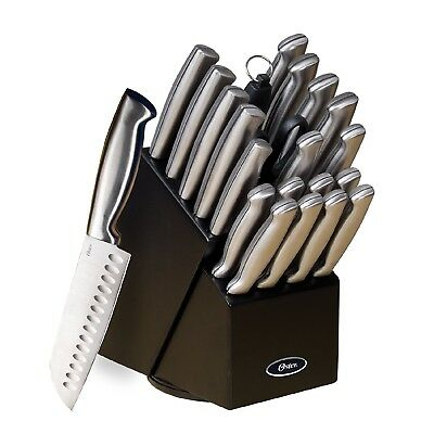 Cutlery Knife Set 22 Pc. Stainless Steel Professional Chef Sharp Kitchen Knives
