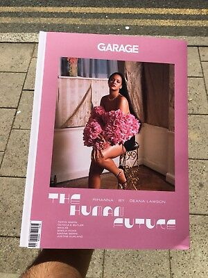 Garage Magazine Fashion Issue 15 Fall 2018 Rihanna By Deana Lawson Human Future