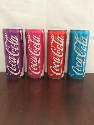 2015 Rare COCA-COLA 250 ml. COLOR CANS SET FROM TURKEY