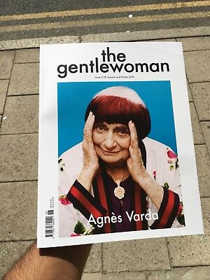 The Gentlewoman Magazine Issue 18 Autumn Winter Agnes Varda Deeyah Khan Sandra O