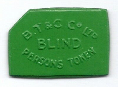 Bristol Blind Person's  2d   Transport Token