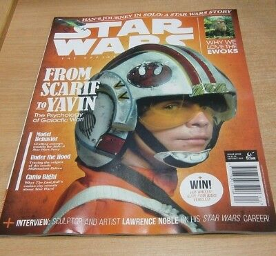Star Wars Insider magazine #183 2018 From Scarif to Yavin, Lawrence Noble, Ewoks