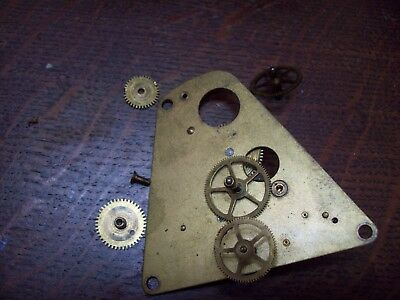Vintage Clock Spare wheels Parts or Steampunk accessories