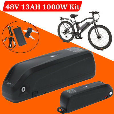 Hailong Ebike 48V 13AH 1000W Lithium Lion Battery with USB Port & Charger HOT MY