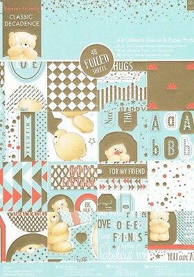 Papermania Ultimate A4 paper toppers tag Forever Friends Classic Decadence Glitz