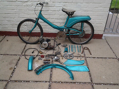 Raleigh runabout moped