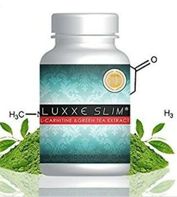 Luxxe Slim  / L-Carnitine  & Green Tea Extract 60Caps 💯% Authentic Free Posts.