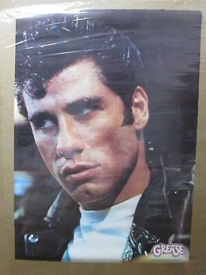 Grease Vintage Poster John Travolta actor 1978 Inv#2481