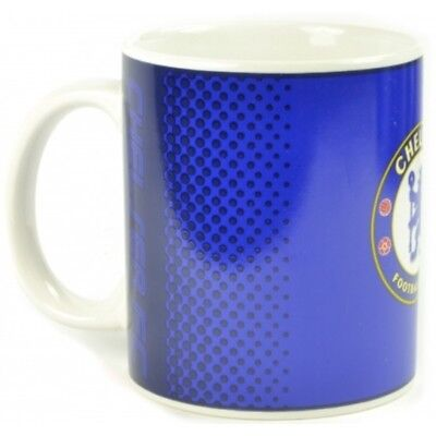Chelsea Fc Tea Tub Mug Ceramic Coffee Cup In Clear Gift Box New Xmas