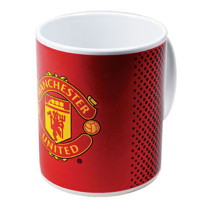 Manchester United Fc Tea Tub Mug Ceramic Coffee Cup In Clear Gift Box New Xmas