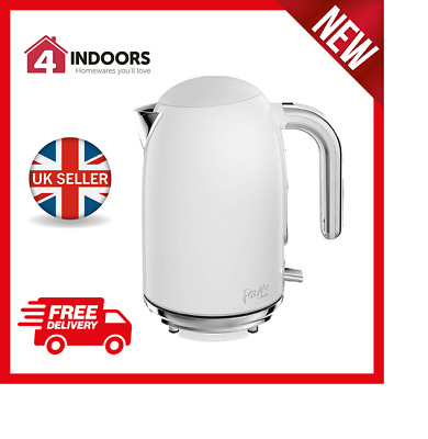 Swan Fearne SK34030TEN 1.7L 3kW Jug Kettle Quiet Boil In Truffle - Brand New