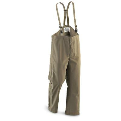Genuine Austrian army combat pants GoreTex military olive OD overall waterproof