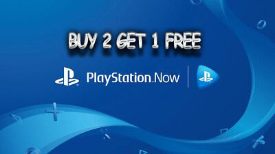 7 Day PlayStation Now (1 Week) Trial For PS4 Ad Windows PC Or Laptop
