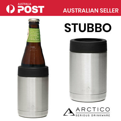 Arctico Stubby Holder Stainless Steel Double Wall Insulated Beer Bottled Cooler