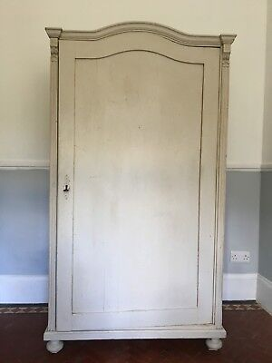 Stunning Painted  Armoire