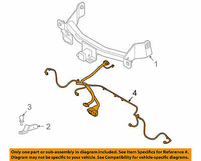 F Trailer Hitch Wire Harness on
