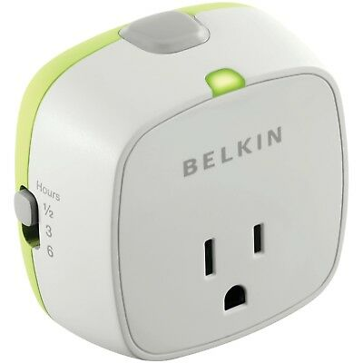 Belkin Conserve Socket Energy-Saving Outlet, F7C009q, New, Free Shipping