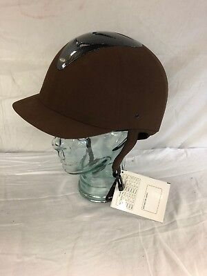 Halo Rider Brown riding hat Size 61cm Brand New