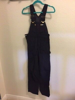 Vintage Lee  Authentic Dungarees &  Bib Overalls Corduroy Size 25 X 34 NOS