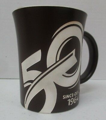 Tim Hortons Brown 50th Anniversary Limited Edition Coffee Tea Mug Cup 2014