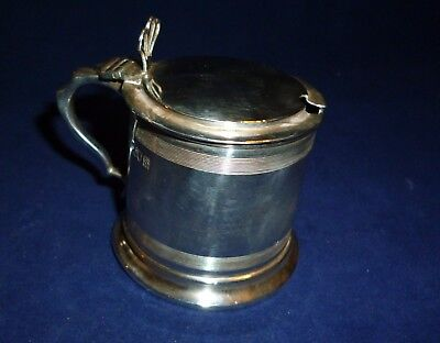 Silver Mustard Pot, Robert Pringle & Sons, London 1913