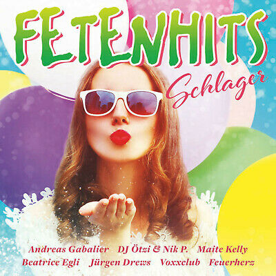 VARIOUS - Fetenhits - Schlager - (CD)