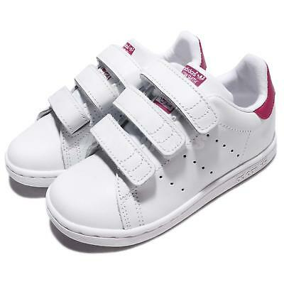 Age 3 Baby 1 6 Shoes White Size Smith Pink Crib Adidas Stan And FK1T3lJc