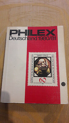 Philex Deutschland Briefmarken- Katalog 1980/81