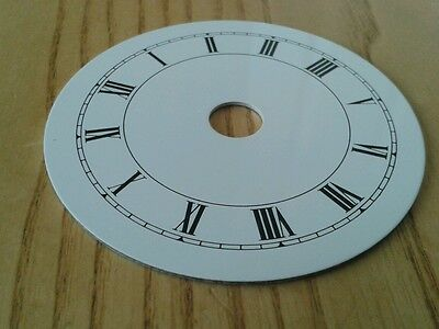 Clock Dial 70mm Roman Enam