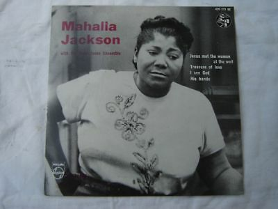 Mahalia Jackson Falls-Jones Ens. Jesus met the woman usw.Philips EP 429 075 BE