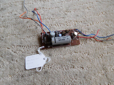 Sansui 4000 Stereo Receiver  F-1176 PCB Protector Block Circuit