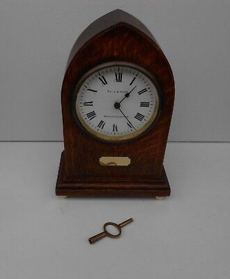 Antique 19thC  French R & Co Paris Mantel Shelf Clock