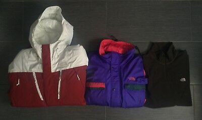 The North Face Gore Tex & Hyvent Series Lot Of 3 Jackets & Fleece