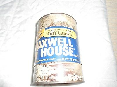 Unopened Maxwell House Coffee Gift Canister