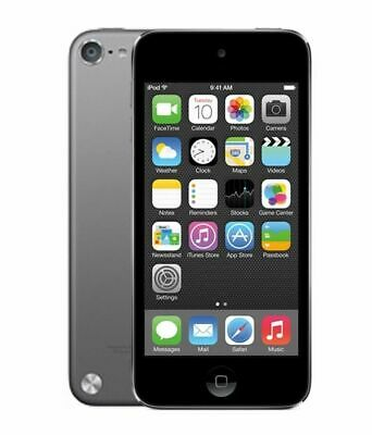 Apple iPod Touch 5th Generation Space Grey - Front & Rear Cam (Read Description)