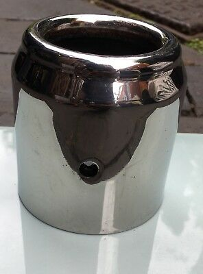 MINI Cooper Genuine Exhaust Tailpipe Trim Chrome Tip Off 54 Plate Onwards