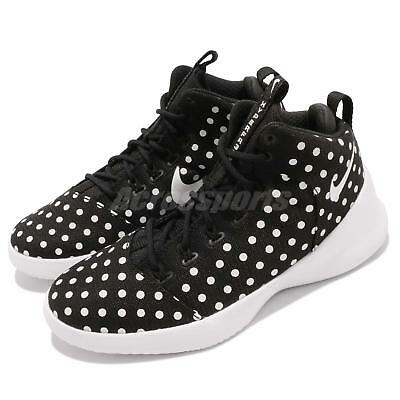 the best attitude cb775 ef8f6 NIKE HYPERFR3SH PRM Premium Black White Polka Dots Mens Running Shoes 805898 -002 - EUR 63,99   PicClick FR