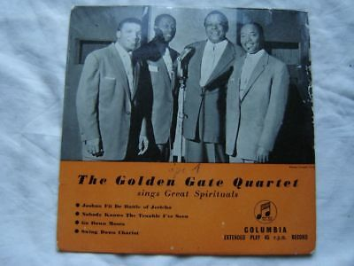 The Golden Gate Quartett sings Great Spirituals  Columbia EP 7´Single