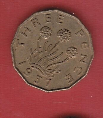 Great Britain 3 Pence 1937