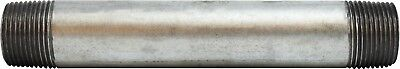 """Galvanized Pipe Nipple - 1"""" Sch40 Welded - Pack of 10 - Select a size - New"""