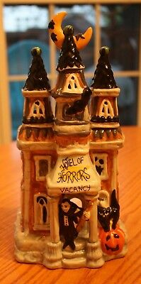 Blue Sky Clayworks Goldminc Halloween Hotel Of Horrors Haunted T Light House