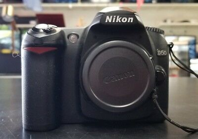 Nikon D50 6.1 MP Digital SLR Camera - Silver (Body Only)