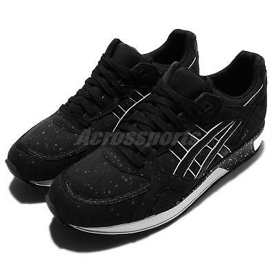 Asics Tiger Gel-Lyte Speed Black White Suede Mens Retro Running Shoes H6K3Y-9090